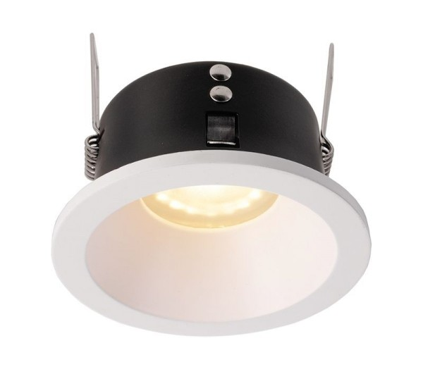 Deko-Light Deckeneinbauring, Mizar I, Aluminium Druckguss, weiß matt, 35W, 12V