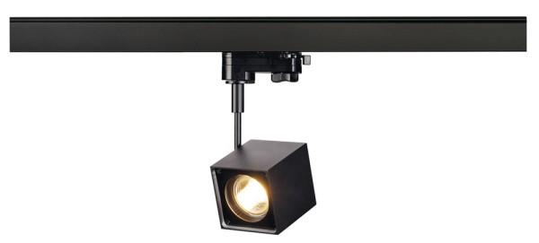 ALTRA DICE, Spot für Hochvolt-Stromschiene 3Phasen, QPAR51, eckig, schwarz, max. 50W