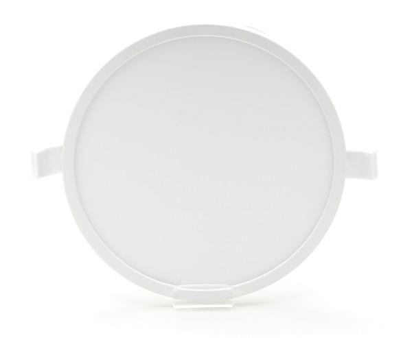 Deko-Light Deckeneinbauleuchte, Alya, Kunststoff, Weiß, Warmweiß, 110°, 11W, 230V, 180x180mm