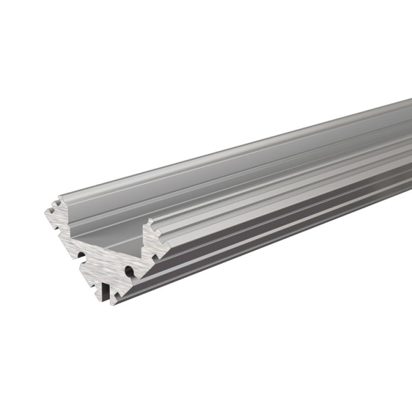 Reprofil, Eck-Profil EV-04-12 für LED Stripes bis 13,3 mm, Silber-matt, eloxiert, 2000 mm