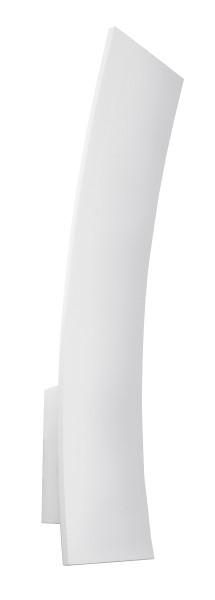 Deko-Light Wandaufbauleuchte, Enna, Aluminium Druckguss, weiß, Warmweiß, 6W, 230V, 400x80mm