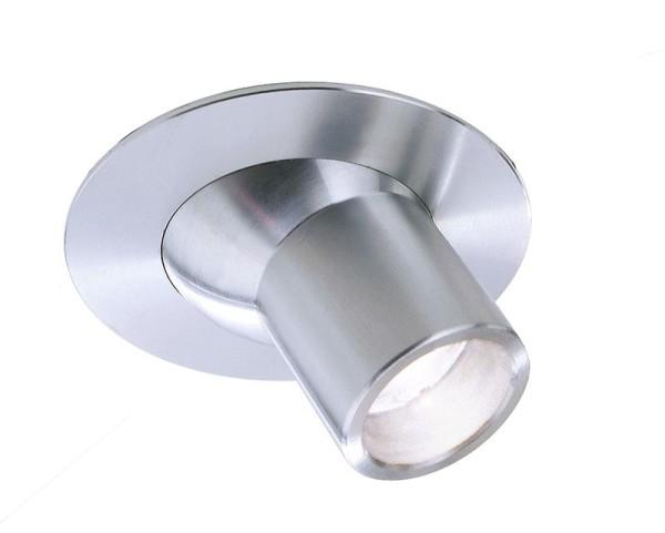 Deko-Light Deckeneinbauleuchte, Light Point Perno, Aluminium, silberfarben, Kaltweiß, 30°, 2W, 230V