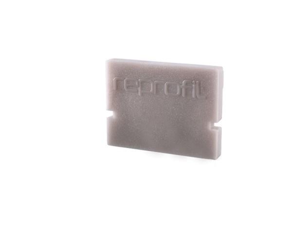 Reprofil Profil Zubehör, Endkappe H-AU-01-10 Set 2 Stk, Kunststoff, Grau, 16x6mm