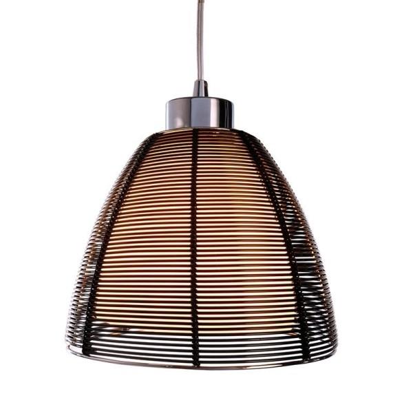 Deko-Light Pendelleuchte, Filo Mob, Metall, schwarz, 60W, 230V