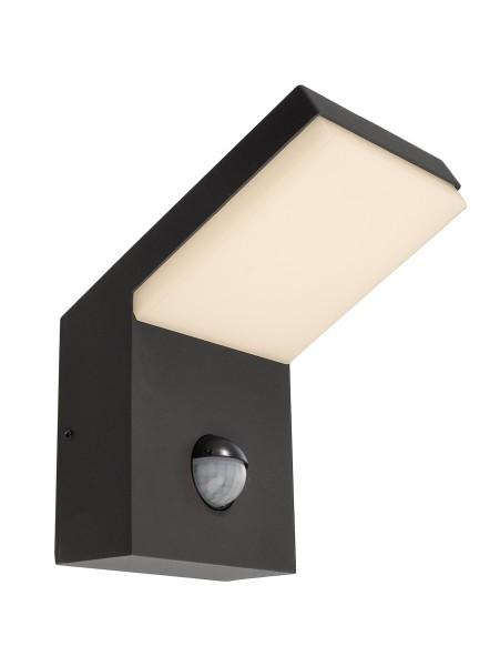 Deko-Light Wandaufbauleuchte, Tucanae Motion, Aluminium Druckguss, dunkelgrau, Warmweiß, 110°, 16W