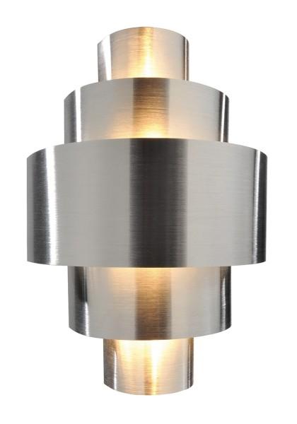 Deko-Light Wandaufbauleuchte, Perfil, Aluminium, silberfarben gebürstet, 40W, 230V, 200x120mm