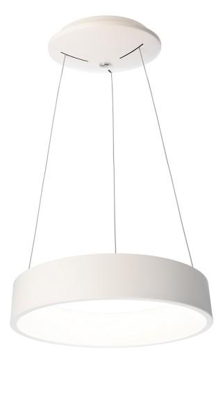 Deko-Light Pendelleuchte, Sculptoris 45, Aluminium, weiß matt, Neutralweiß, 150°, 26W, 230V