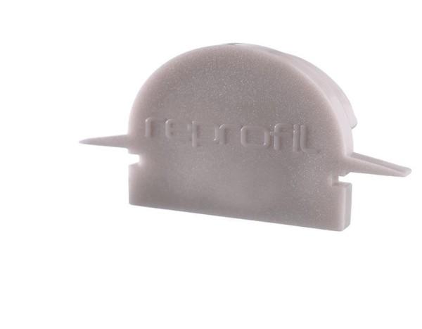 Reprofil Profil Zubehör, Endkappe R-ET-01-15 Set 2 Stk, Kunststoff, Grau, 30x6mm