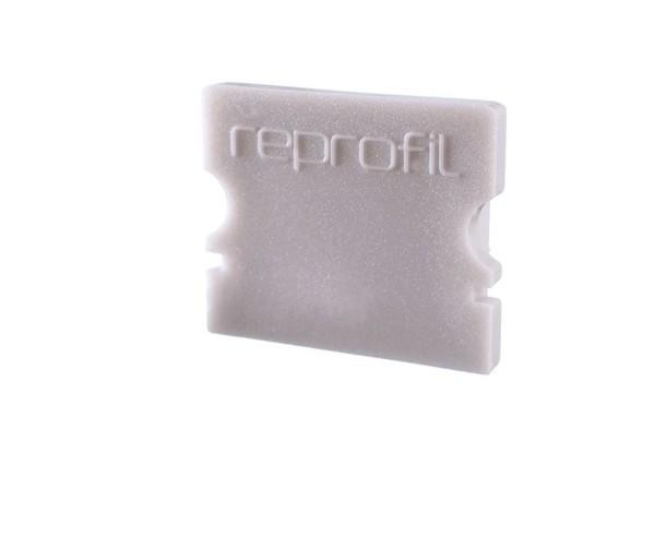 Reprofil Profil Zubehör, Endkappe P-AU-02-12 Set 2 Stk, Kunststoff, Grau, 18x6mm