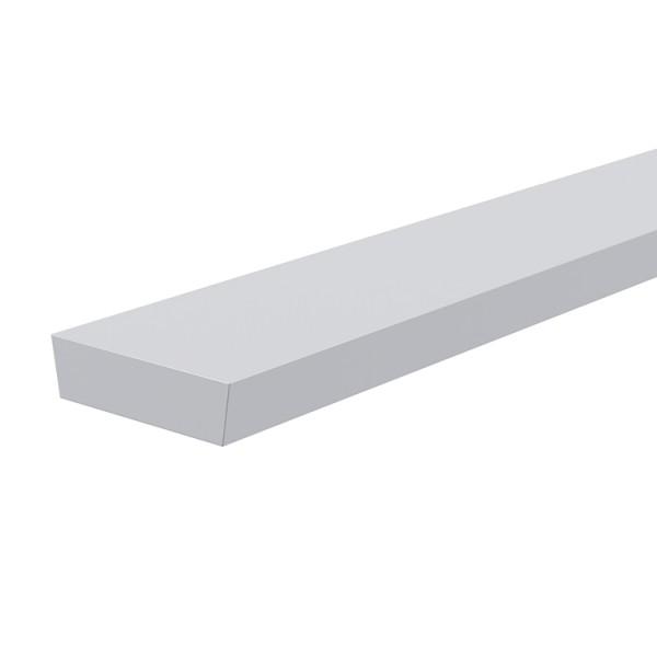Reprofil, Abdeckung I-02-12, Kunststoff, milchig 40% Transmission, Länge: 2000 mm