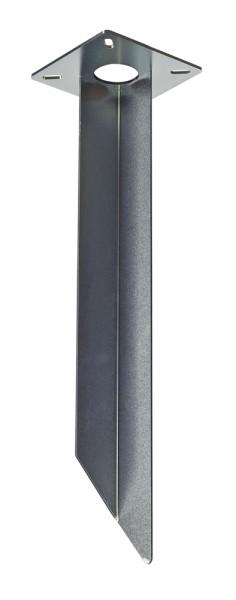 ERDSPIESS, für GRAFIT, RUSTY SLOT, LOGS Standleuchte, Stahl verzinkt, Länge 48cm