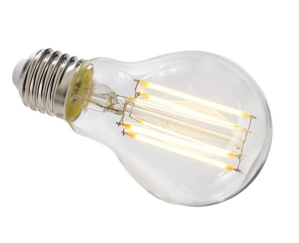 Phillips Leuchtmittel, Classic LEDLuster D5-40W P45 E27 827 CL, Glas, Warmweiß, 5W, 230V, 80mm