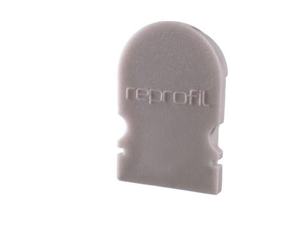 Reprofil Profil Zubehör, Endkappe R-AU-02-10 Set 2 Stk, Kunststoff, Grau, 16x6mm