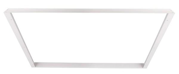 Deko-Light Zubehör, Aufbaurahmen 124x62, Aluminium Strangpressprofil, weiß, 1246x626mm