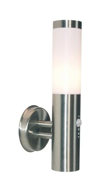 Deko-Light Wandaufbauleuchte, Nova II, Edelstahl, silberfarben, 40W, 230V, 145mm