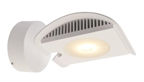 Deko-Light Displayleuchte, Atis III, Aluminium Druckguss, weiß, Warmweiß, 100°, 15W, 230V, 200x144mm