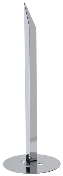 ERDSPIESS, für ROX ACRYL POLE, SQUARE POLE und GLOO PURE Standleuchte, Stahl verzinkt