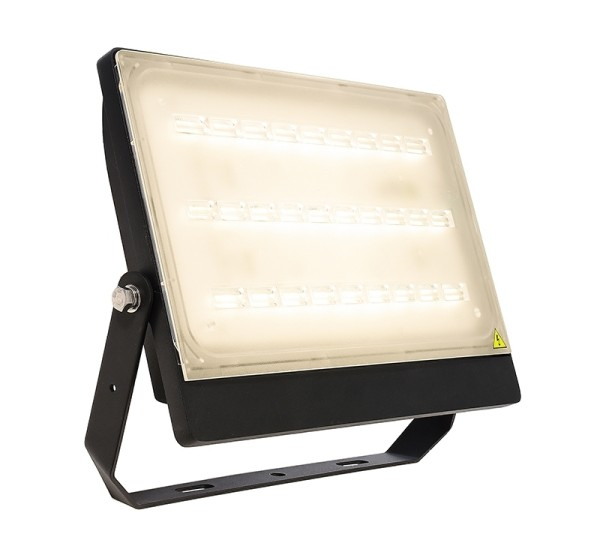 Deko-Light Boden- / Wand- / Deckenleuchte, Brachium, Aluminium Druckguss, schwarz, Warmweiß, 75°