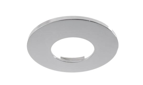 Deko-Light Zubehör, Abdeckung Chrom rund für COB 68 IP65 + Mizar II, Aluminium, Silber Chrom