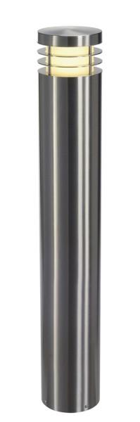 VAP 100, Outdoor Standleuchte, TC-HSE, IP44, rund, edelstahl 304, Ø/H 16/100 cm, max. 23W