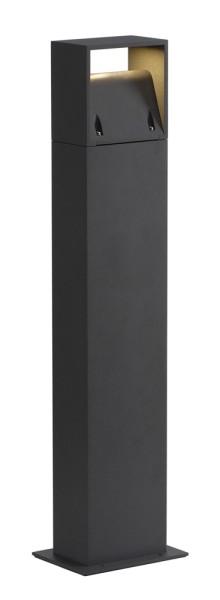 LOGS 70, Outdoor Standleuchte, LED, 3000K, IP44, eckig, anthrazit, L/B/H 13/8/69,5 cm, 8W
