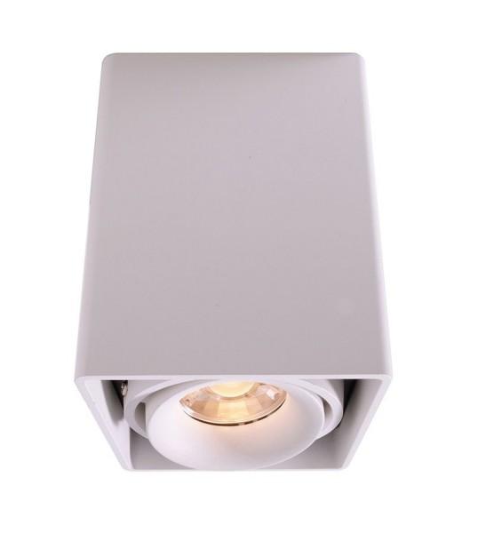 Deko-Light Deckenaufbauleuchte, Mona I, Aluminium Druckguss, weiß, 50W, 230V, 93x93mm