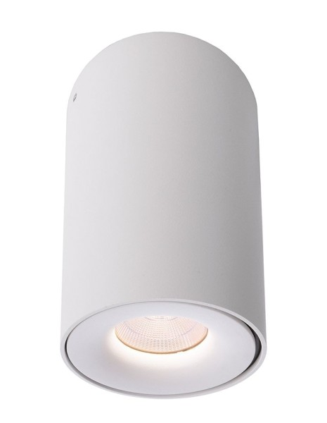 Deko-Light Deckenaufbauleuchte, Bengala LED, Aluminium Druckguss, weiß, Warmweiß, 48°, 9W, 230V