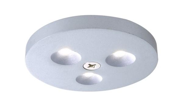 LED Aufbau 3er Set a 3 LEDs, 3 Watt,kaltweiß