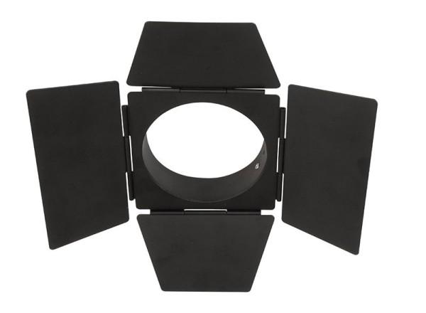 Deko-Light Zubehör, Torblende schwarz, Luna 20/30, Metall, Schwarz, 230mm
