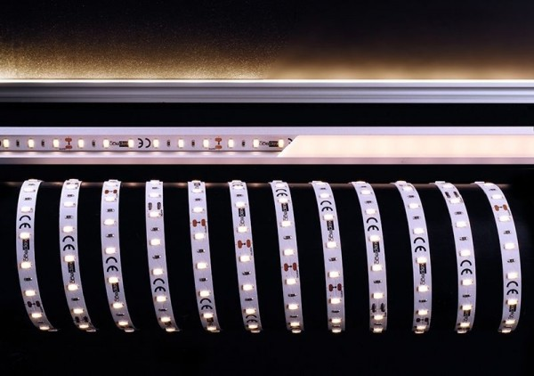 Deko-Light Flexibler LED Stripe, 5630-60-24V-3000K-5m, Kupfer, Weiß, Warmweiß, 120°, 85W, 24V