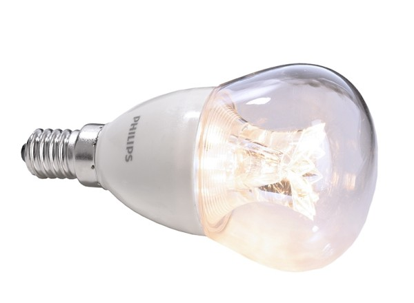 Phillips Leuchtmittel, MAS LEDlustre E14 6-40W, Warmweiß, 6W, 230V, 35mA, 95mm
