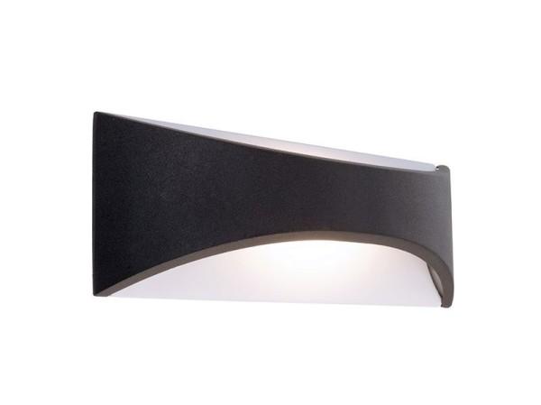 Deko-Light Wandaufbauleuchte, Uria 6, Aluminium Druckguss, anthrazit, Warmweiß, 120°, 6W, 230V