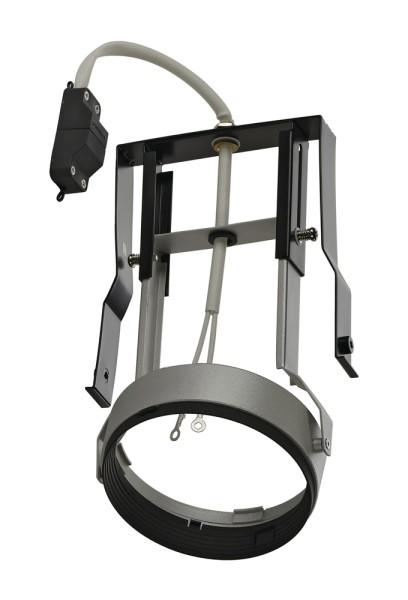 QR111 MODUL MOVE, für AIXLIGHT PRO Einbaurahmen, QR-LP111, silbergrau/schwarz, max. 75W