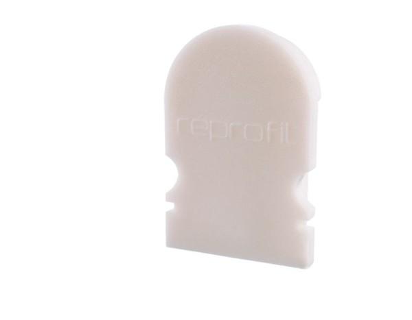 Reprofil Profil Zubehör, Endkappe R-AU-02-10 Set 2 Stk, Kunststoff, Weiß, 16x6mm