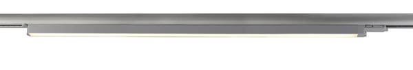 Deko-Light Schienensystem 3-Phasen 230V, Linear 100, Aluminium, silberfarben mattiert, Warmweiß, 30W