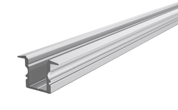 Reprofil Profil, T-Profil hoch ET-02-08, Aluminium, Silber-matt eloxiert, 2000mm