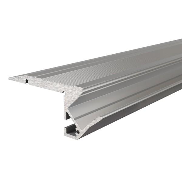 Reprofil, Treppenstufen-Profil AL-01-10 für LED Stripes bis 11,3 mm, Silber-matt, eloxiert, 3000 mm