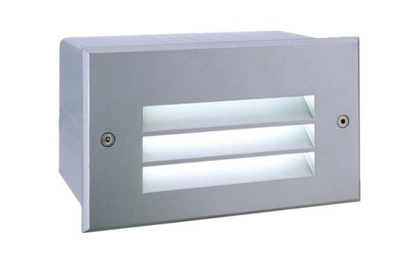 KapegoLED Wandeinbauleuchte, Side V LED CW, inklusive Leuchtmittel, symmetrisch, Kaltweiß, 1,70 W