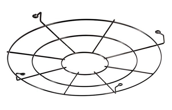 Deko-Light Zubehör, Schutzgitter für Ainara, Metall, schwarz, 319mm