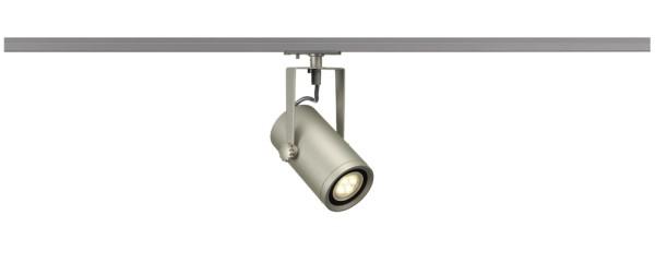 EURO SPOT, Spot für Hochvolt-Stromschiene 1Phasen, LED, 3000K, silbergrau, 24°, 12,6W