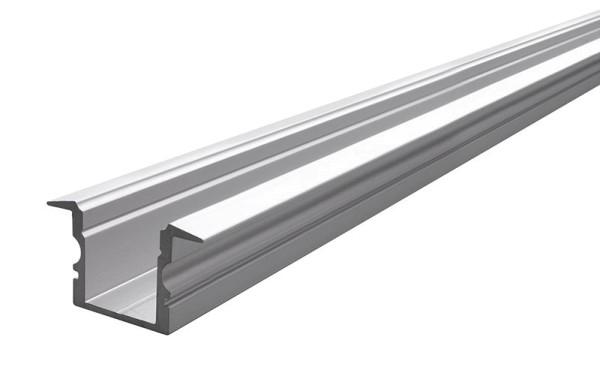 Reprofil Profil, T-Profil hoch ET-02-10, Aluminium, Silber-matt eloxiert, 2000mm