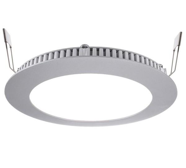 Deko-Light Deckeneinbauleuchte, LED Panel 8, Aluminium Druckguss, silberfarben, Neutralweiß, 115°