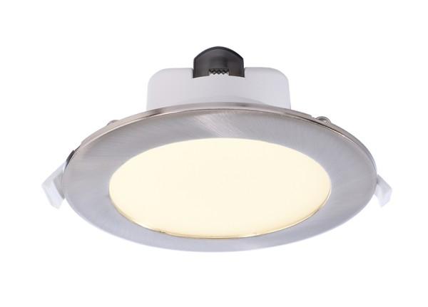 Deko-Light Deckeneinbauleuchte, Acrux 195, Kunststoff, weiß matt, Warmweiß + Neutralweiß + Kaltweiß