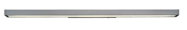 Q-LINE WALL, Wandleuchte, T16, aluminium natur/anthrazit, max. 35W, inkl. EVG