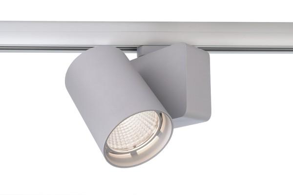 Deko-Light Schienensystem 3-Phasen 230V, Nihal, Aluminium Druckguss, silberfarben, Neutralweiß, 33°