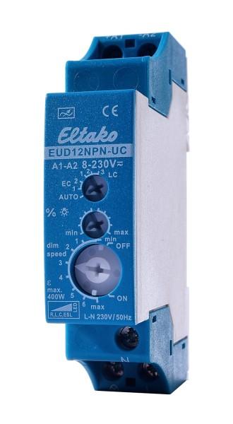 Controller, Eltako Dimmer Universal 400W EUD12NPN-UC, Blau, 230V, 90x70mm