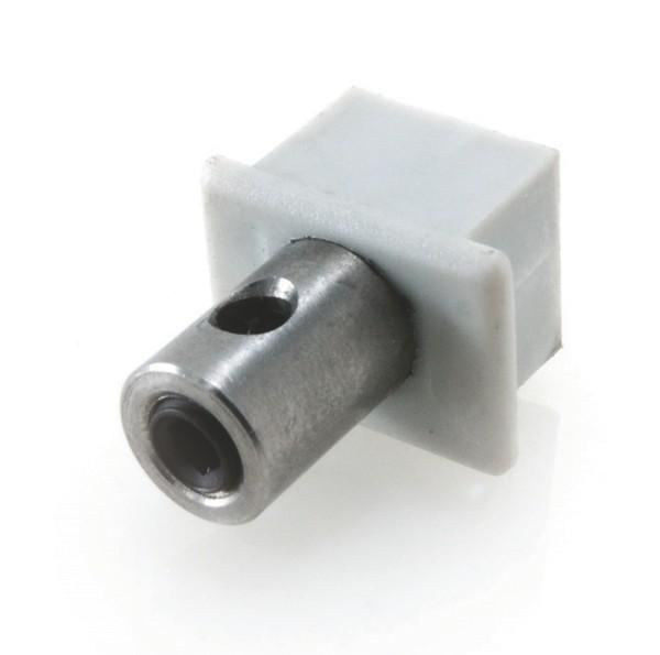 Endkappe PDS4 mit Stromversorgung, Grau