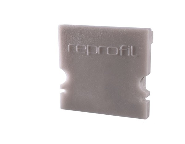 Reprofil Profil Zubehör, Endkappe H-AU-02-15 Set 2 Stk, Kunststoff, Grau, 21x6mm