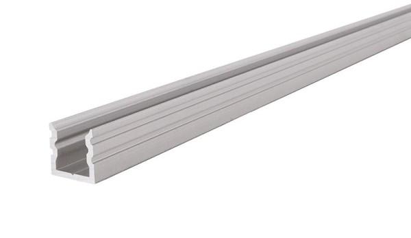 Reprofil Profil, U-Profil hoch AU-02-05, Aluminium, Silber-matt eloxiert, 2000mm