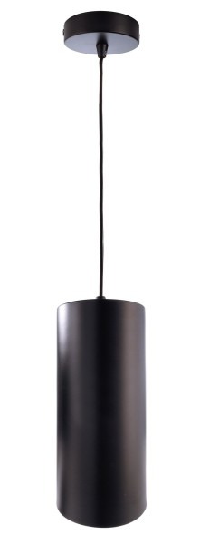 Deko-Light Pendelleuchte, Barrel, Metall, schwarz, 40W, 230V, 250mm